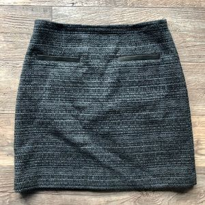 Theory 'Francia Dialogue' Boucle Mini Skirt Size 8
